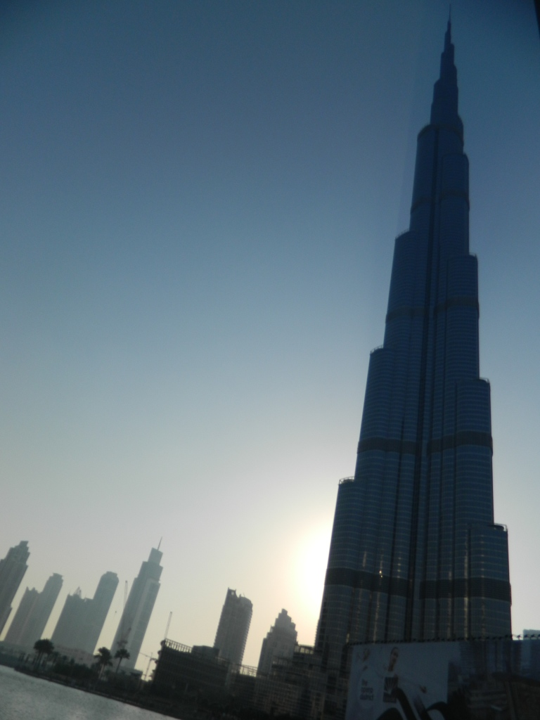 The great Burj Khalifa