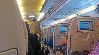 Etihad A320 Interior