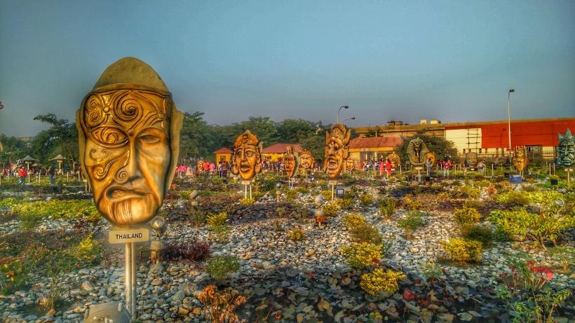The Mask Garden